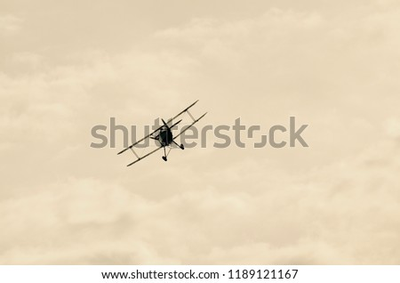 A photo of a fighter plane from the period of the Great War