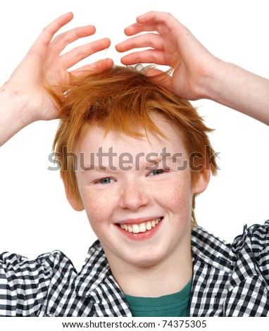 stock photo a photo of a happy young teen boy isolated 74375305 Ping Pong Adult Diapers   Disposable for Adult Incontinence