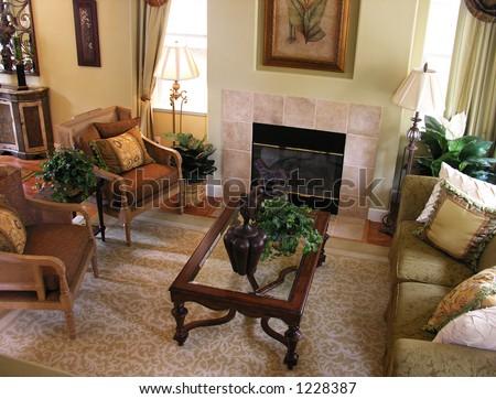 A photo of a home interior