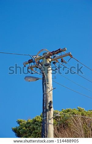A photo of a Power Tower - stock photo