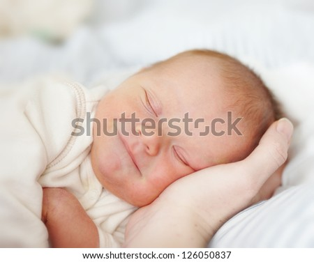 A photo of beautiful baby girl