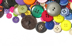 A photo of miscellaneous buttons