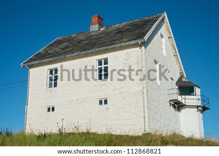 A photo of Old country house in Norway