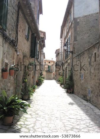 A photo of romantic Spanish village
