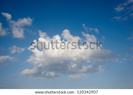 A photo of september clouds