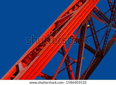 A photograph of an engineered structure.