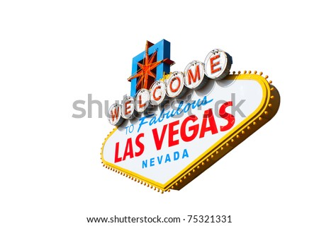 A photograph of the Welcome To Fabulous Las Vegas Nevada Sign