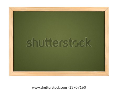 A photography of a small chalk board