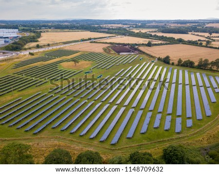 A photovoltaic power station, also known as a solar park, is a large-scale photovoltaic system designed for the supply of merchant power into the electricity grid.