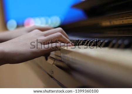 a piano player at thailand #1399360100