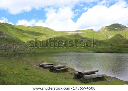 A picnic in the beautiful lake