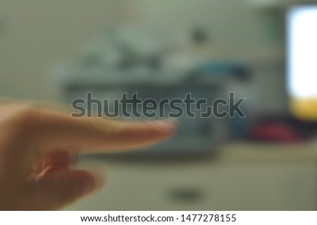 A picture of a blurred hand #1477278155