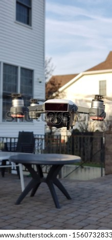 a picture of a picture taking drone  #1560732833
