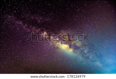 a picture of the milkyway...