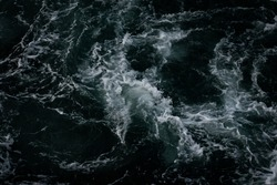 A picture of the turbulent waters of the Puget Sound.