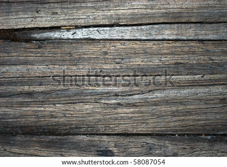 A picture to show the texture of old wood