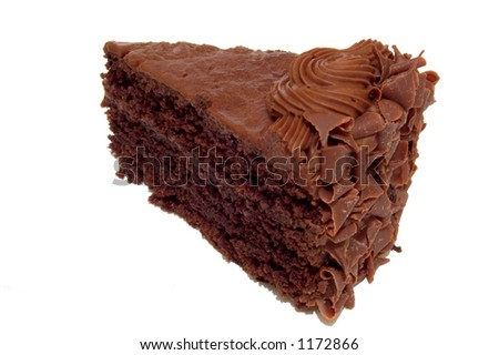 A Piece of Chocolate Cake.