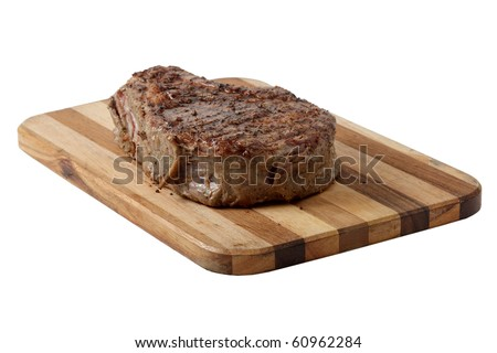 a piece of meat on a white background