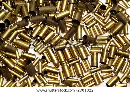 A pile of bullet shells - nice background