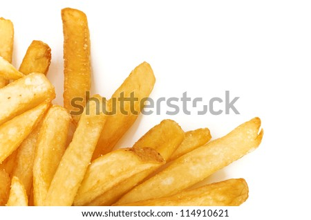 a pile of french fries