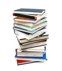 A pile of learning in class or back to school