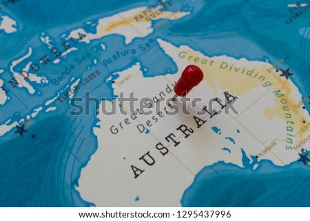 Great Sandy Desert World Map.Safety Stock A Pin On Great Sandy Desert Australia In The World Map