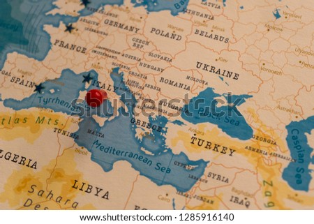 World Map 1933.Free Photos Italy Country In Europe On The World Map Avopix Com