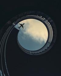 A plane meets the golden ratio