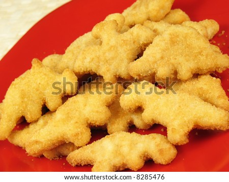 chicken nuggets. chicken nuggets copes with