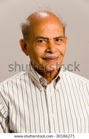 A portrait of a senior East Asian man