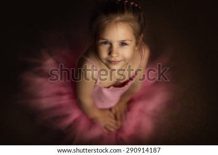 64d99cecb802 Free photos Portrait of cute smiling little girl in princess dress ...