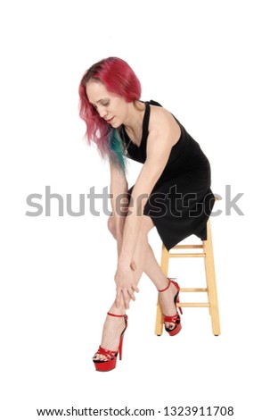Sorry, not ebony girl bent over chair