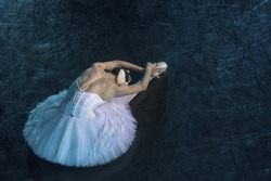 A prima ballerina in the role of