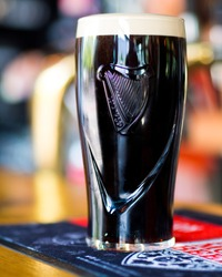 A proper pint of the black stuff - Guinness