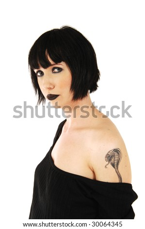 cobra snake tattoo. with a cobra snake tattoo.