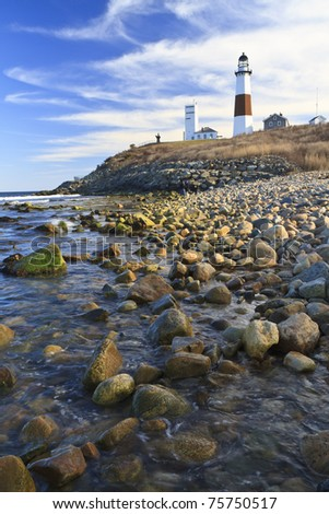 A quiet, sunny afternoon on Montauk Point