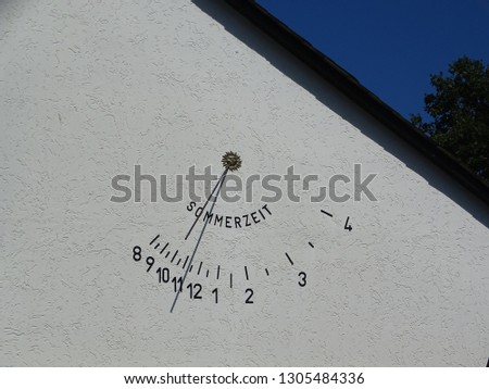 A rare piece of DST showing sundial. #1305484336