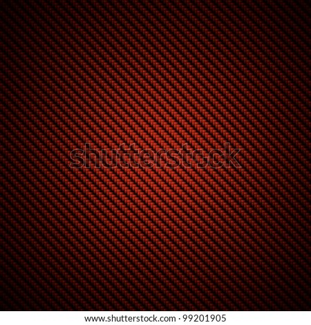 A Realistic Red Carbon Fiber Weave Background Or Texture ...