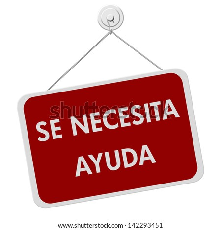 how to say ayuda in spanish