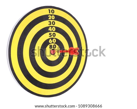 Free photos bullseye avopix a red dart arrow hitting on center at bullseye of dartboard which is heart shaped and altavistaventures Image collections