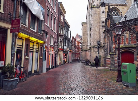 A red-light district or pleasure district is a part of an urban area in Amsterdam where a concentration of prostitution and sex-oriented businesses