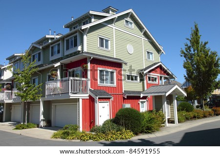 A residential home architectural design in Richmond BC Canada.