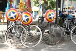 A roadster bicycle is a type of utility bicycle once common worldwide, and still common in Asia, Africa, Latin America, and some parts of Europe.