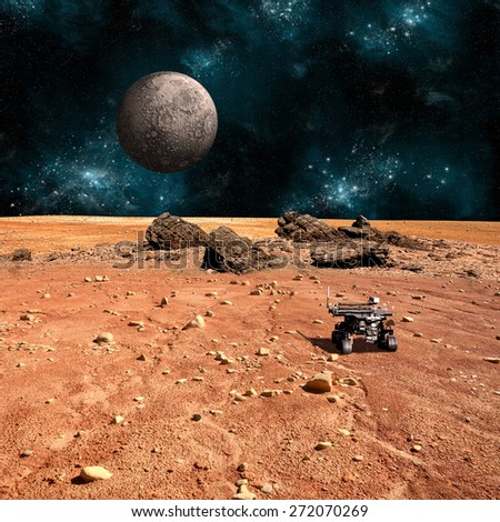 stock-photo-a-robotic-rover-explores-the-surface-of-a-rocky-and-barren-alien-world-a-large-cratered-moon-rises-272070269.jpg