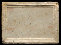 A roman stone where you can write down your ideas
