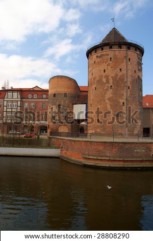a round tower in gdansk -  the free city of Gdask - 2009, Gdansk, Danzig, Poland