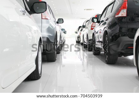 Parked Car Vector
