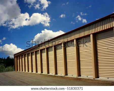 A Row of Storage Units