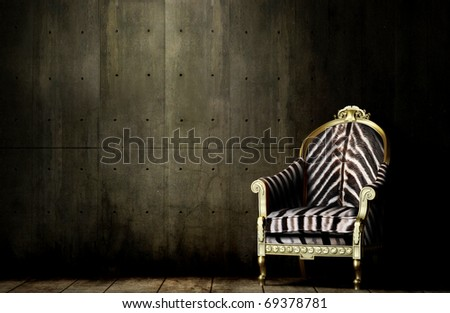 A Royal African Chair