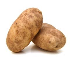 A russet potato (Idaho potato)